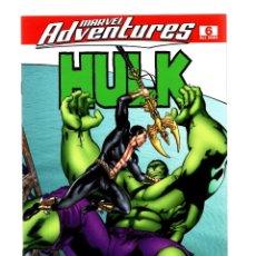 Comics : MARVEL ADVENTURES 6 - MARVEL 2008 VFN/NM / HULK VS SUB-MARINER. Lote 251469425