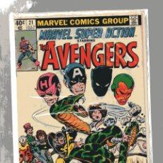 Cómics: MARVEL SUPER ACTION THE AVENGERS # 21. Lote 251513740