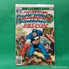 Cómics: CAPTAIN AMERICA 214 - MARVEL 1977 / VFN / THE FALCON. Lote 252085690
