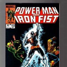 Comics : POWER-MAN AND IRON FIST 103 - MARVEL 1984 VFN+. Lote 252587125