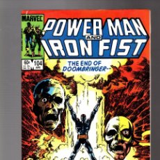 Comics : POWER-MAN AND IRON FIST 104 MARVEL 1984 FN/VFN / BYRNE COVER. Lote 252587305