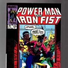 Comics : POWER-MAN AND IRON FIST 105 - MARVEL 1984 VFN / KURT BUSIEK. Lote 252587555
