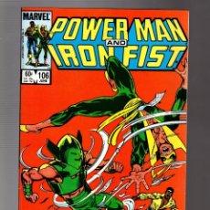 Comics : POWER-MAN AND IRON FIST 106 - MARVEL 1984 VFN+ / PORTADA JOHN BYRNE. Lote 252587735