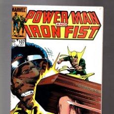 Comics : POWER-MAN AND IRON FIST 107 - MARVEL 1984 VFN+ / PORTADA JOHN BYRNE. Lote 252587845