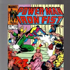Comics : POWER-MAN AND IRON FIST 110 - MARVEL 1984 VFN. Lote 252587985