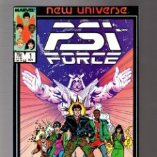 Comics : PSI FORCE 1 - MARVEL NEW UNIVERSE 1986 VFN-. Lote 252589075