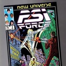 Cómics: PSI FORCE 2 - MARVEL NEW UNIVERSE 1986 VFN-. Lote 252589160
