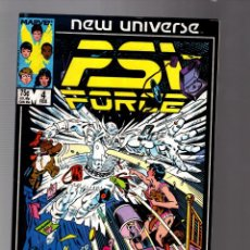 Cómics: PSI FORCE 4 - MARVEL NEW UNIVERSE 1986 FN+. Lote 252589315