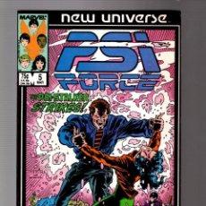 Cómics: PSI FORCE 5 - MARVEL NEW UNIVERSE 1987 VFN-. Lote 252589420