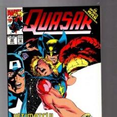 Comics : QUASAR 40 - MARVEL 1992 VFN/NM / INFINITY WAR. Lote 252589930