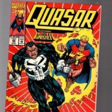 Comics : QUASAR 42 - MARVEL 1993 VFN/NM / PUNISHER. Lote 252590210
