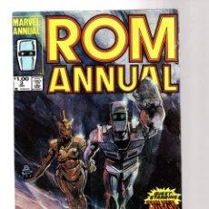 Comics : ROM SPACEKNIGHT ANNUAL 3 - MARVEL 1984 FN / NEW MUTANTS. Lote 252593365