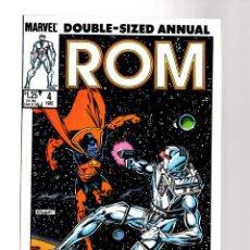 Comics : ROM SPACEKNIGHT ANNUAL 4 - MARVEL 1985 VFN- / VS GLADIATOR / STEVE DITKO. Lote 252593680