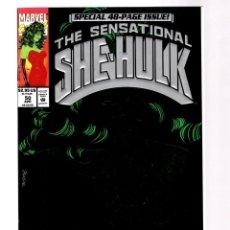Cómics: SENSATIONAL SHE HULK 50 - MARVEL 1993 VFN/NM GREEN FOIL COVER / JOHN BYRNE. Lote 277422883