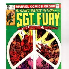 Comics : SGT FURY & HIS HOWLING COMMANDOS 161 - MARVEL 1980 FN+. Lote 252598710