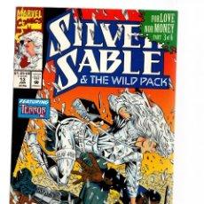 Comics : SILVER SABLE 13 - MARVEL 1992 VFN+ / GREGORY WRIGHT & STEVEN BUTLER / TERROR INC / CAGE. Lote 252602685