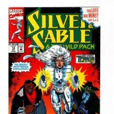 Comics : SILVER SABLE 14 - MARVEL 1992 VFN+ / GREGORY WRIGHT & STEVEN BUTLER / TERROR INC / CAGE. Lote 252602895