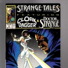 Cómics: STRANGE TALES 4 - MARVEL 1987 FN/VFN / DOCTOR STRANGE / CLOAK AND DAGGER. Lote 277422958