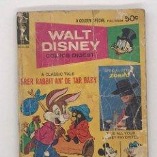 Cómics: COMICS WALT DISNEY - COMICS DIGEST Nº 39 - EN INGLES. Lote 253978225