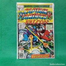 Cómics: CAPTAIN AMERICA 213 - MARVEL 1977 / VFN / THE FALCON. Lote 254138920