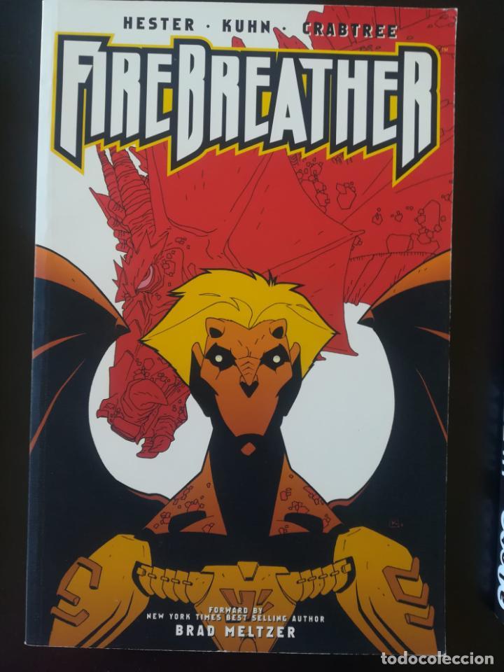 FIREBREATHER HESTER KUHN CRABTREE (Tebeos y Comics - Comics Lengua Extranjera - Comics USA)