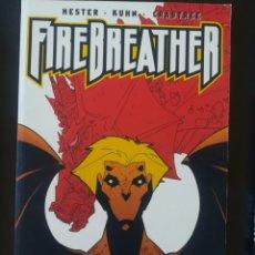 Cómics: FIREBREATHER HESTER KUHN CRABTREE. Lote 254272745