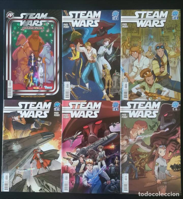 STEAM WARS COMPLETA MAS ESPECIAL (Tebeos y Comics - Comics Lengua Extranjera - Comics USA)