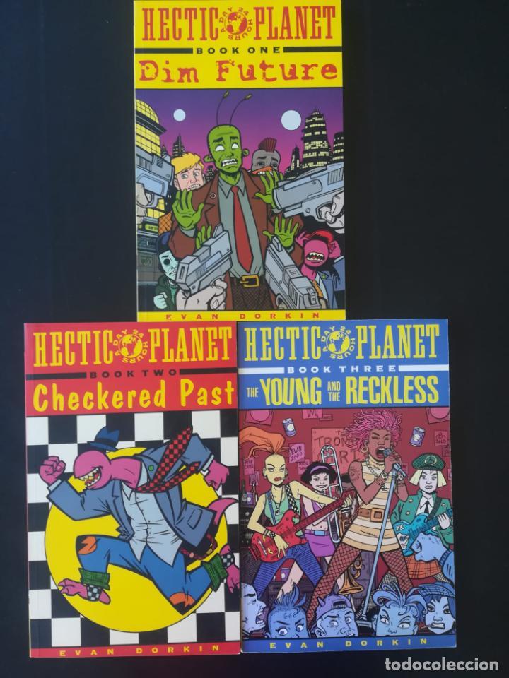 HECTIC PLANET DIM FUTURE COMPLETA (Tebeos y Comics - Comics Lengua Extranjera - Comics USA)