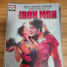 Cómics: TONY STARK IRON MAN 4 MARVEL LEGACY 604. Lote 254838415