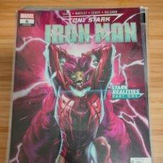 Cómics: TONY STARK IRON MAN 6 MARVEL LEGACY 606. Lote 254838525