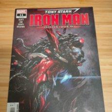 Cómics: TONY STARK IRON MAN 11 MARVEL LEGACY 610. Lote 254839230