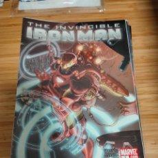 Cómics: THE INVINCIBLE IRON MAN 1 2008 SERIES MARVEL FRACTION LARROCA. Lote 254840295