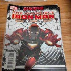 Cómics: THE INVINCIBLE IRON MAN 8 2008 SERIES MARVEL FRACTION LARROCA. Lote 254840700