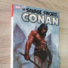 Cómics: THE SAVAGE SWORD OF CONAN 1 OMNIBUS IMPECABLE LA ESPADA SALVAJE DE CONAN. Lote 254997020