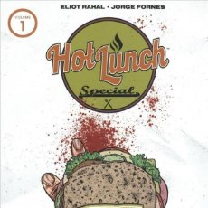 Cómics: HOT LUNCH SPECIAL TPB # 1 (AFTERSHOCK,2019) - JORGE FORNES. Lote 255308645