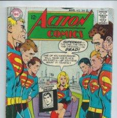 Cómics: ACTION COMICS (SUPERMAN) Nº 366 (AGOSTO 1968). ORIGINAL DC. BUEN ESTADO. PORTADA NEAL ADAMS. Lote 257283175