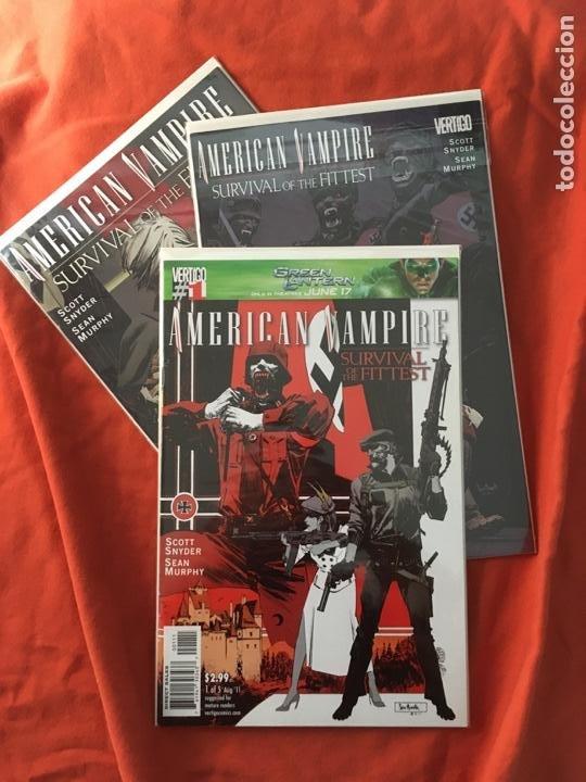 AMERICAN VAMPIRE, SURVIVAL THE FITTEST DE SCOTT SNYDER & SEAN MURPHY (Tebeos y Comics - Comics Lengua Extranjera - Comics USA)