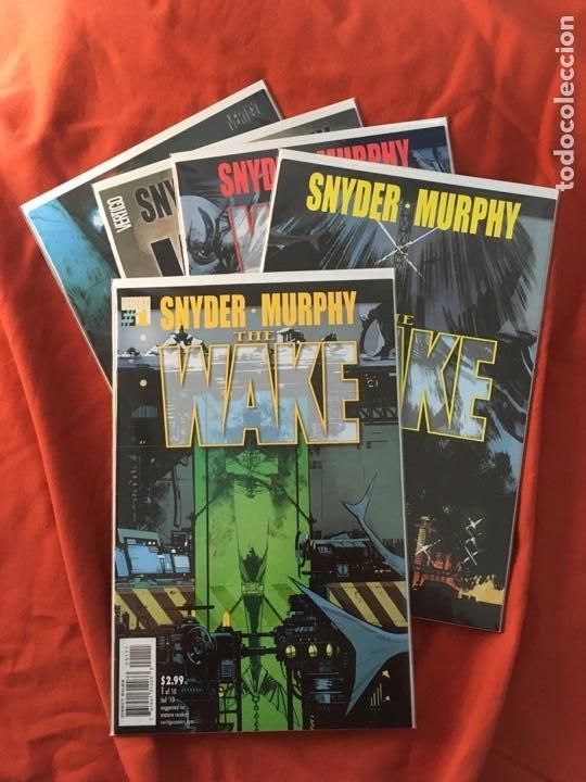 THE WAKE, DE SCOTT SNYDER & SEAN MURPHY (Tebeos y Comics - Comics Lengua Extranjera - Comics USA)