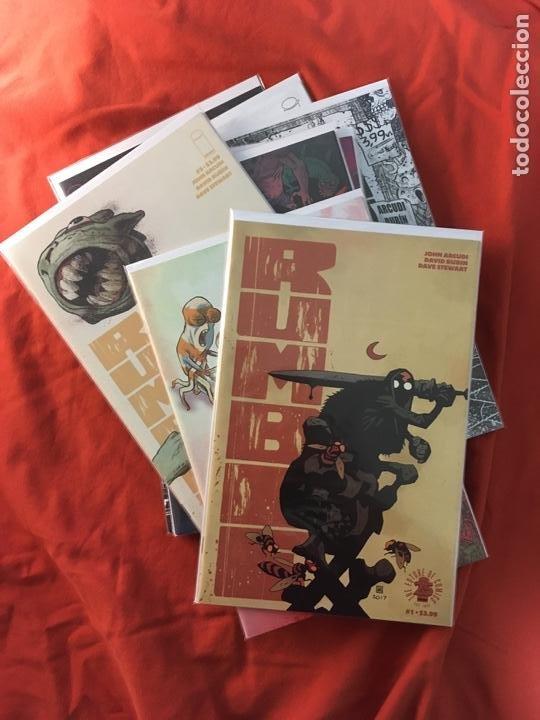 RUMBLE VOL.2, DE JOHN ARCUDI & DAVID RUBIN (Tebeos y Comics - Comics Lengua Extranjera - Comics USA)