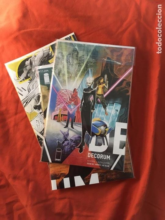 DECORUM, DE JONATHAN HICKMAN & MIKE HUDDLESTON (Tebeos y Comics - Comics Lengua Extranjera - Comics USA)