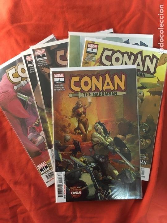 CONAN, THE BARBARIAN, DE JASON AARON & MAHMUD ASRAR (Tebeos y Comics - Comics Lengua Extranjera - Comics USA)