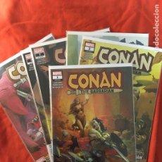 Cómics: CONAN, THE BARBARIAN, DE JASON AARON & MAHMUD ASRAR. Lote 257398355