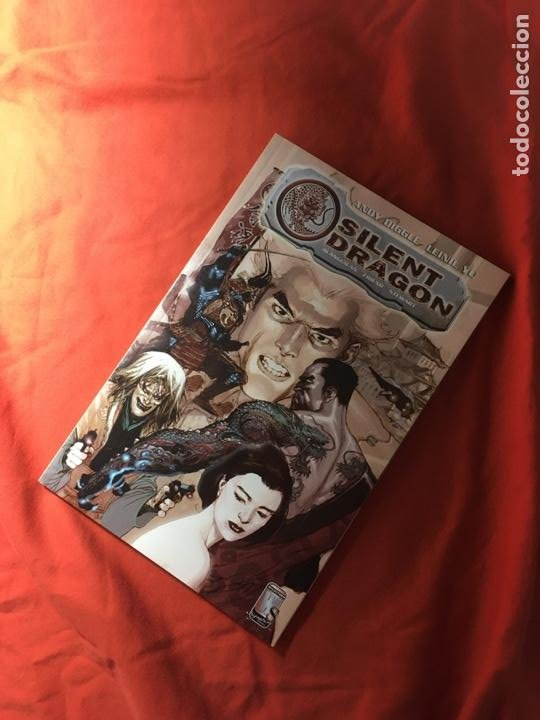 SILENT DRAGON, DE ANDY DIGGLE & LEINIL YU (Tebeos y Comics - Comics Lengua Extranjera - Comics USA)