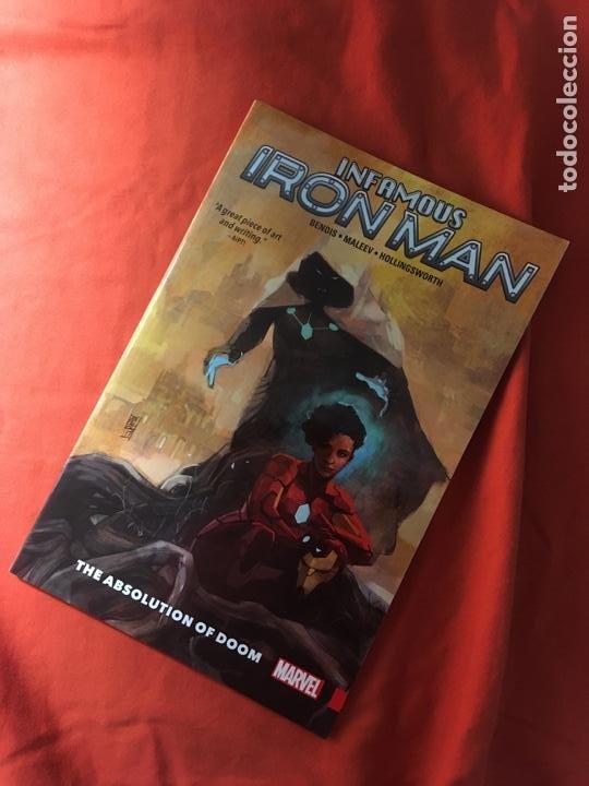 INFAMOUS IRON MAN DE BRIAN MICHAEL BENDIS & ALEX MALEEV (Tebeos y Comics - Comics Lengua Extranjera - Comics USA)