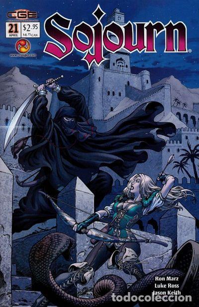 SOJOURN #21, CROSSGEN, 2.003. USA. (Tebeos y Comics - Comics Lengua Extranjera - Comics USA)