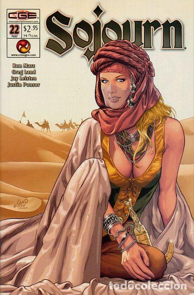 SOJOURN #22, CROSSGEN, 2.003. USA. (Tebeos y Comics - Comics Lengua Extranjera - Comics USA)