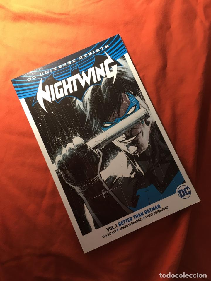 NIGHTWING, VOL.1, BETTER THAN BATMAN, DE TIM SEELEY & JAVIER FERNÁNDEZ (Tebeos y Comics - Comics Lengua Extranjera - Comics USA)