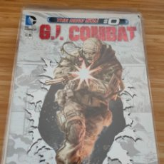 Cómics: G.I. COMBAT 0 DC THE NEW 52 GI. Lote 257554975