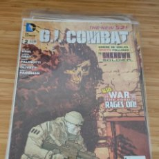 Cómics: G.I. COMBAT 2 DC THE NEW 52 GI. Lote 257555045