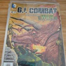 Cómics: G.I. COMBAT 4 DC THE NEW 52 GI. Lote 257555075